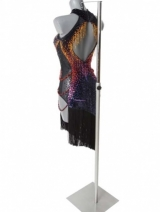 Latindress black/multicolor